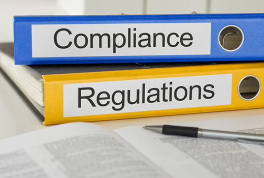 Regulatory compliance support